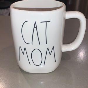 Rae Dunn cat mom mug
